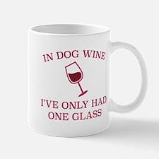 In Dog Wine Mug