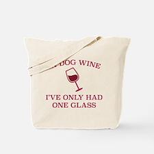 In Dog Wine Tote Bag