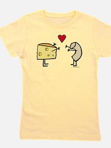 Macaroni And Cheese Love Girl's Tee