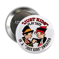 """Just Kids 2.25"""" Button (10 pack)"""
