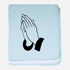 Praying Hands baby blanket