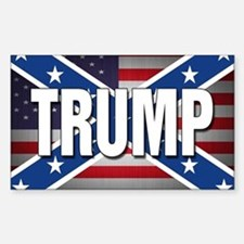 Donald Trump American Flag Decal