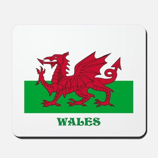 Flag of Wales Mousepad