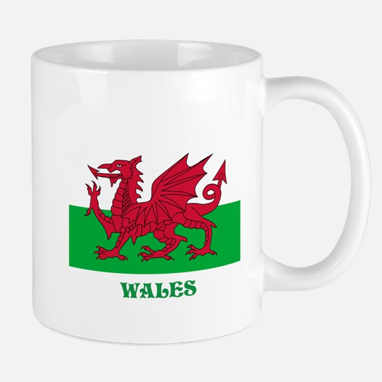 Flag of Wales Mugs