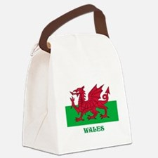 Flag of Wales Canvas Lunch Bag