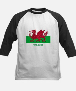 Flag of Wales Baseball Jersey