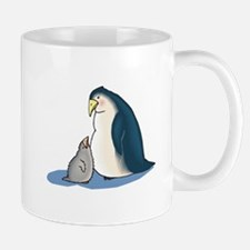 Mommy/Daddy & Baby Penguin Mug