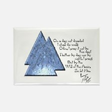Valknut Prayer Icon Magnet Magnets