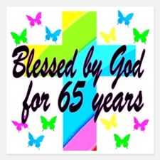 65TH PRAYER Invitations
