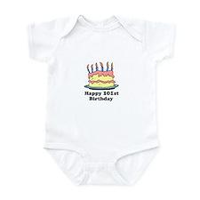 Happy 101st Birthday Infant Bodysuit
