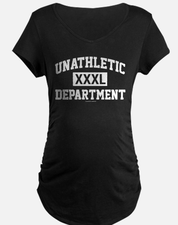Unathletic Department XXXL Maternity T-Shirt