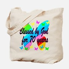 70TH BLESSING Tote Bag