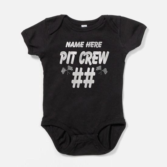 Pit Crew Baby Bodysuit