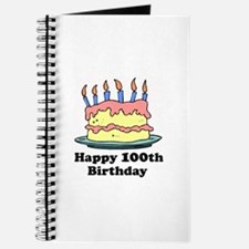 Happy 100th Birthday Journal