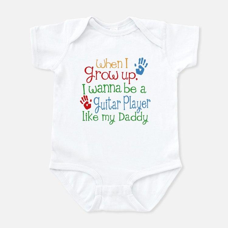 Guitar Player Like Daddy Infant Bodysuit