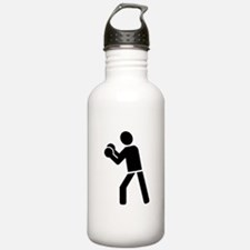 Boxing sports logo Water Bottle