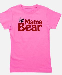 Cute Mama bear Girl's Tee