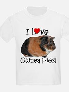 I Love Guinea Pigs #03 T-Shirt