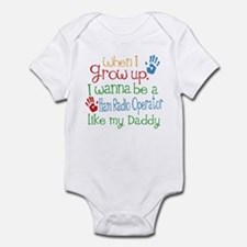 Ham Radio Operator Like Daddy Infant Bodysuit