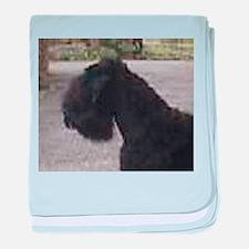 black russian terrier baby blanket