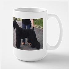 black russian terrier full Mugs