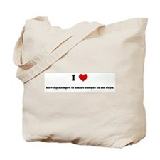 I Love steveny siempre te ama Tote Bag