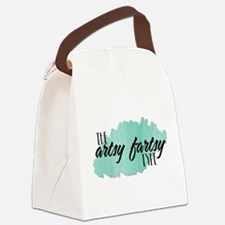 Artsy Fartsy Canvas Lunch Bag