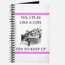 play ike a girl Journal
