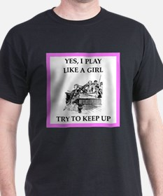 play ike a girl T-Shirt
