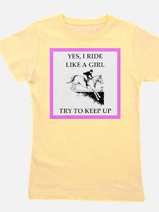 equestrian Girl's Tee