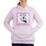 Equestrian humor Hooded Sweatshirt