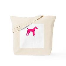 Pink Design Tote Bag
