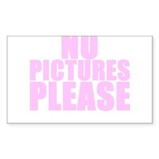 NP PICTURES PLEASE Rectangle Decal