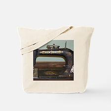 Unique Vintage sewing machine ad Tote Bag