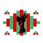 Schnauzer Christmas Postcards (Pk of 8)