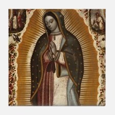 Virgin of Guadalupe Tile Coaster