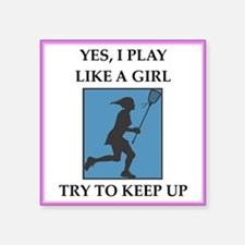 lacrosse Sticker