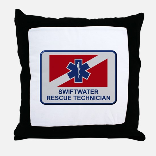 Cute Water rescue Throw Pillow