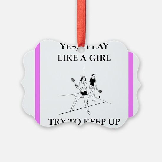 racquetball Ornament
