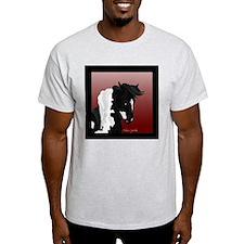 Gypsy Vanner Horse #5 Ash Grey T-Shirt