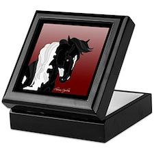 Gypsy Vanner Horse #5 Keepsake Box