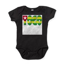 Unique World flag Baby Bodysuit
