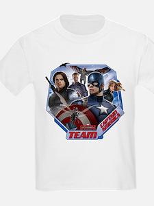 Captain America Dark S T-Shirt