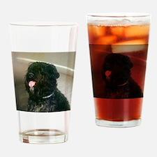 Bouvier des Flandres Drinking Glass