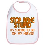 Getting On My Nerves Bib