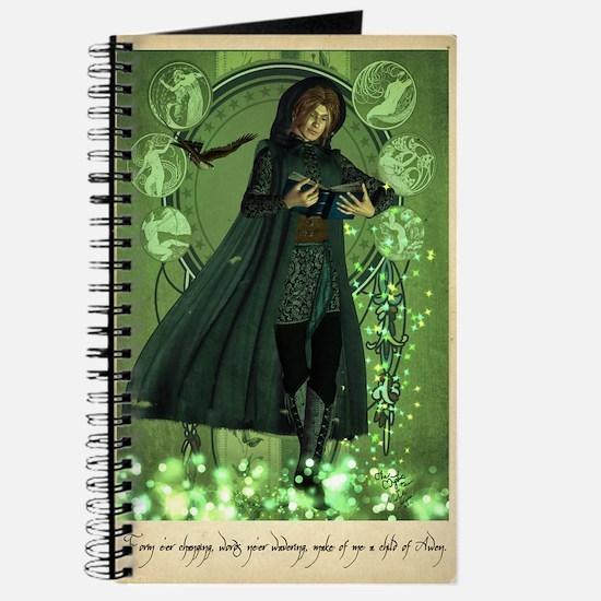 Mystic Taliesin Prayer Grimoire Journal