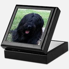 briard black Keepsake Box