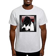 Gypsy Vanner Horse (#2) Ash Grey T-Shirt