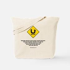 Unique Repent Tote Bag