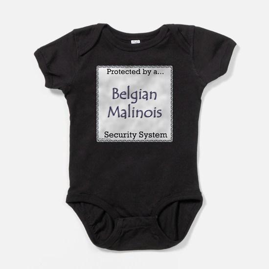 Cute Belgian malinois dog Baby Bodysuit